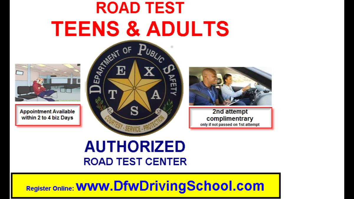 - teens-adults road test