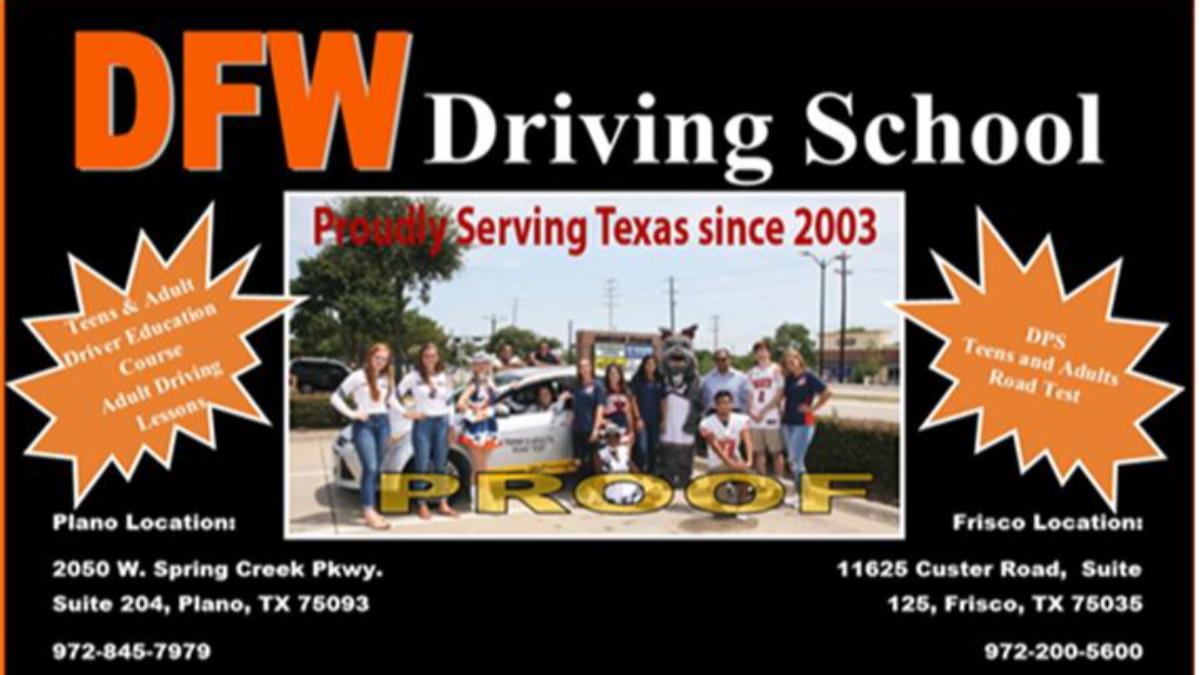 - DFW Driving ad 18
